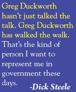 Dick Steele quote