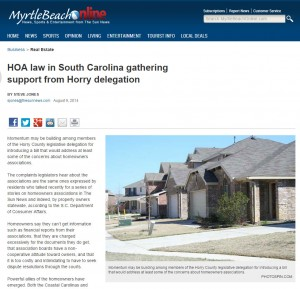 HOA-law-in-South-Carolina-gathering-support-from-Horry-delegation