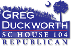 greg Duckworth - SC House 104 - Republican